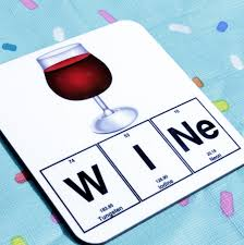 wine emoji wine science coaster emoji wine glass chemistry periodic