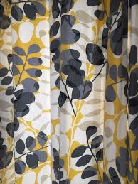 Scion Curtain Fabric Stunning Yellow And Grey Curtains Fully Lined Scion Fabric In