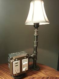 Table Lamps With Outlets In Base Table Lamp With Outlet And Usb Best Inspiration For Table Lamp