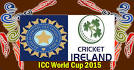 INDIA VS IRELAND Mar 10 2015 Live Match - ICC World Cup
