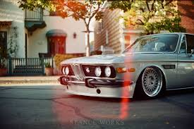 bmw vintage stanceworks bmw e9 on hre 501 vintage series video auto news