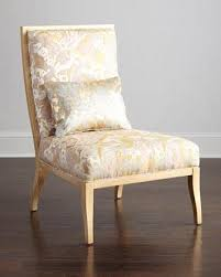 ivory chair gold and ivory accent chair