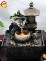 table top water fall tabletop water fountain indoor zen relaxation waterfall tranquil