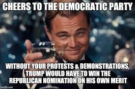 Democratic Memes - leonardo dicaprio cheers meme imgflip