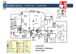 fire exit floor plan health u0026 safety awareness ppt video online download