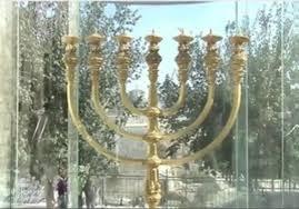 jerusalem menorah citysights more than a model menorah israel jerusalem post