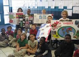 tina phelps s second grade class at northeast elementary school