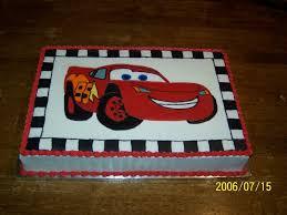 lightning mcqueen birthday cake mcqueen