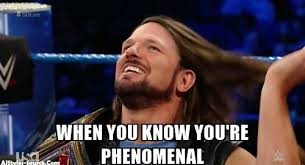 Aj Styles Memes - increasing your speed during soccer training aj styles wwe funny