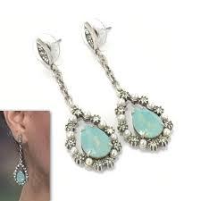 antoinette earrings antoinette pacific opal drop earrings zoky doky