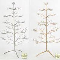 silver metal tree decore
