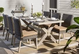 birch lane knotts melamine 12 piece dinnerware set service for 4