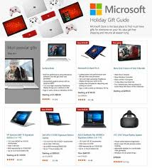 best deals black friday laptop leak reveals all of microsoft u0027s best black friday 2016 deals u2013 bgr