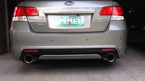 subaru legacy gt bm9 turbo back hks es premium rev straight pipe