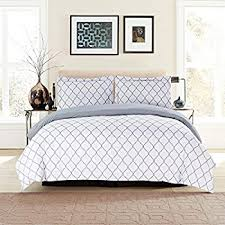 Duvet Cove Amazon Com Printed Duvet Cover Set Brushed Velvety Microfiber