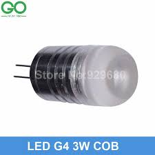 g4 3w led car light auto bulb car lamp 12vdc can be dimmable by