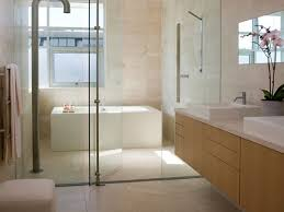 Shower Door Rails Interior Fantastic Small Bathroom With Rectangular Soaking