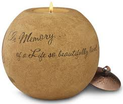 condolences gifts in memory candle sympathy gift