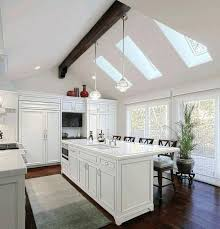 Lighting For Sloped Ceilings Vaulted Ceiling Kitchen Sloped Ceiling Lighting Solutions For