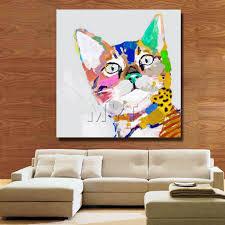 100 pop art home decor original abstract painting modern