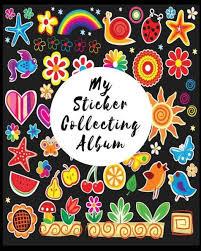 8 x 10 photo album books my sticker collecting album blank sticker book 8 x 10 64 pages