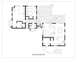 Beach House Floor Plans Modern House Decorations
