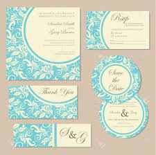 Vintage Invitation Cards Beautiful Vintage Wedding Invitation Cards Royalty Free Cliparts