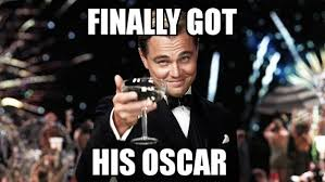 Leo Oscar Meme - 18 best memes of leonardo dicaprio finally winning an oscar sportige