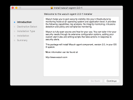 install wazuh agent on mac os x u2014 documentation 2 0 documentation