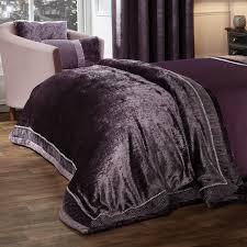 elegance lia mauve luxury embellished duvet set bedding sets