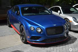 bentley continental 2016 black bentley continental gt speed black edition 2016 14 birþelio 2017