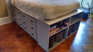 Instructables Platform Bed - dresser platform bed from scratch 8 steps with pictures