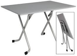 table de cuisine pliante pas cher table de cuisine pliante avec plateau melamine de couleur