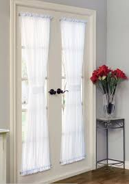 Thermal Panel Curtains Sheer Window Panels 918 Avril Crushed Sheer Rod Pocket Curtain