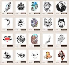 meaningful symbols and their meanings for tattoos wolf tattoo