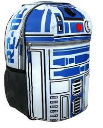 wars r2d2 on patrol 16 backpack with lights and