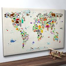 Map Wall Decor by Wall Designs Awesome Best Hanging World Maps Wall Decor