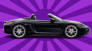 purple porsche boxster 2017 porsche 718 boxster s unboxing review is it better than its