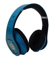 Light Blue Beats Monster Beats By Dr Dre Studio Headphones 23 Limited Edition