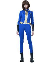 Fallout Clothes For Sale Amazon Com Miccostumes Women U0027s Sole Survivor Nora Cosplay Costume