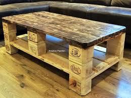 handmade wood coffee table furnitures pallet wood coffee table beautiful handmade wood pallet