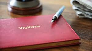 guest book why you need a visitor or guest book in your office jfk