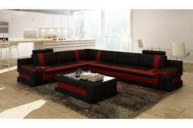 Modern Leather Sectional Couch Contemporary U0026 Luxury Furniture Living Room Bedroom La Furniture