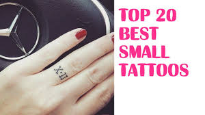 top 20 best small tattoos for your first ink tattoo world youtube