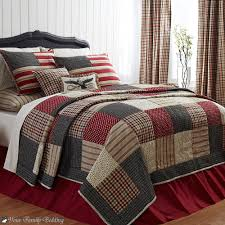 bedding set noticeable engaging cool country plaid bedding sets