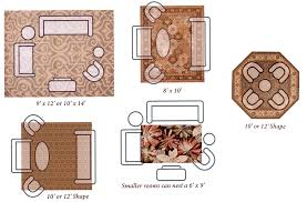 size of rug for dining room amusing idea lovely decoration dining