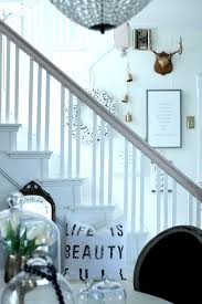 softening up the look and feel of the staircase