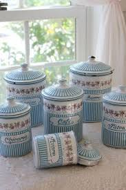 blue and white kitchen canisters 165 best kitchen canisters and matching accessories images on