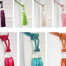 Drapery Tassel Tiebacks 78 Curtain Tie Backs To Take Inspiration From Patterns Hub