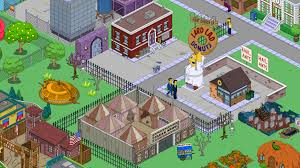 halloween city game springfield showoff this is halloweenthe simpsons tapped out